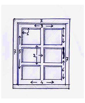 Verniciare da se porte e finestre - Verniciare porte in legno ...